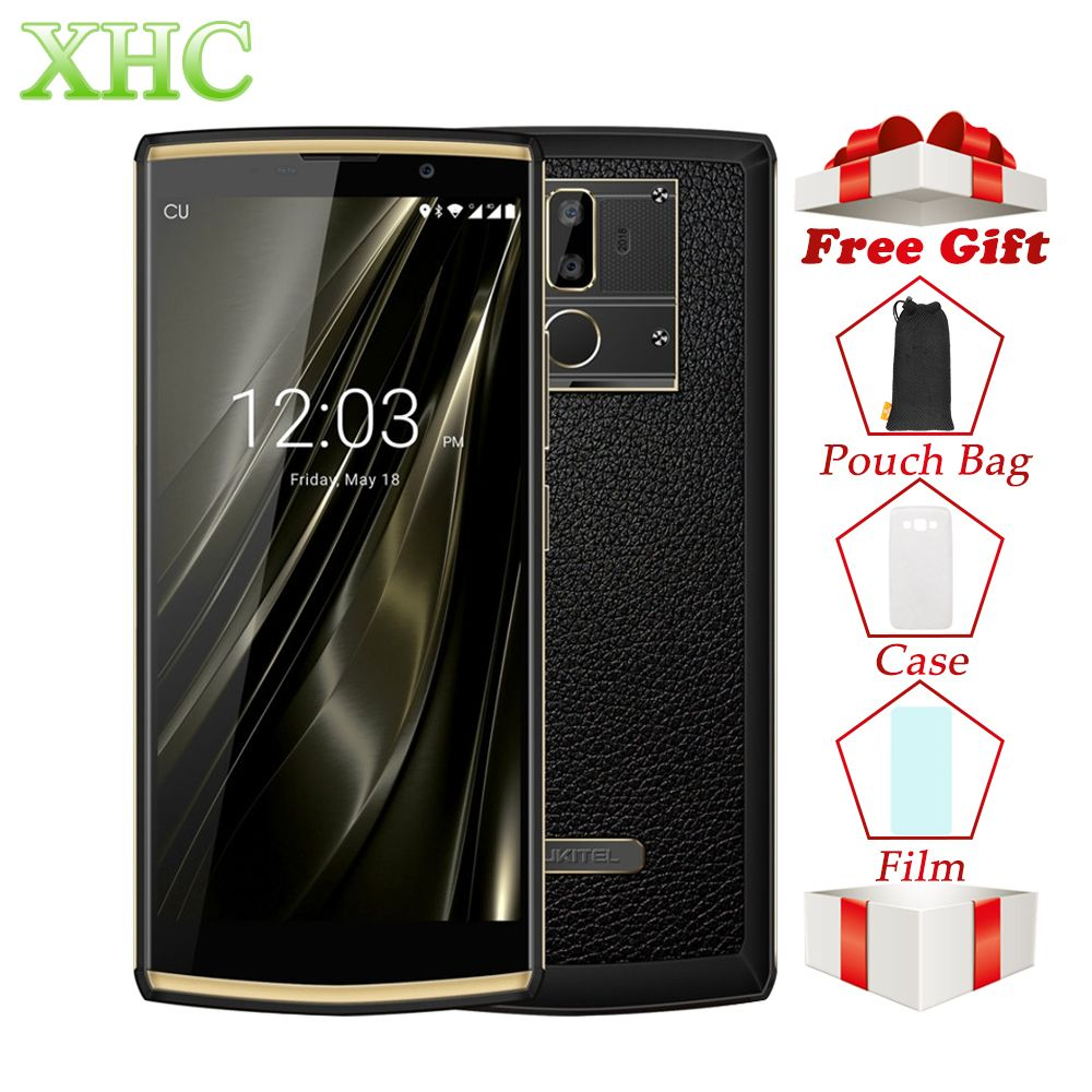 OUKITEL K7 4 gb + 64 gb Smartphones 13MP 5MP 10000 mah Große Batterie 6,0 zoll Android 8.1 MTK6750T Octa Core dual SIM 4g Handys