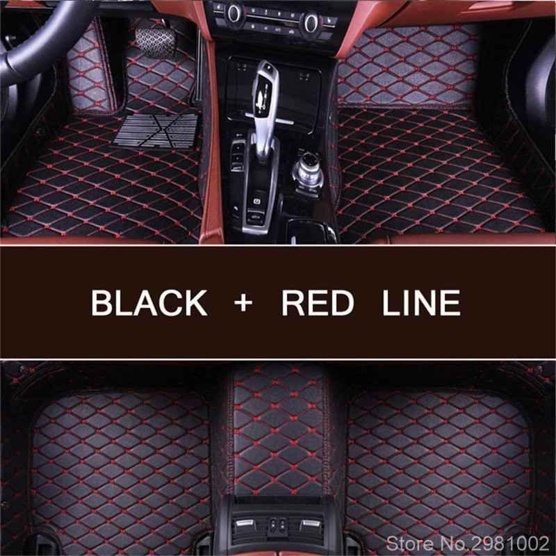 Custom car fußmatten für LEXUS Alle Modelle CT ES IST GS GX LS LX RX RC LC UX250H SC430 HS250H auto fußmatten