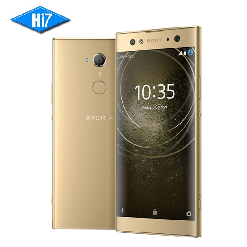 New Original Sony Xperia XA2 Ultra H4233 3 Camera 64G ROM 4G RAM 23.0MP Octa Core NFC 3580mAh Dual Sim Android 8 Smart Phone
