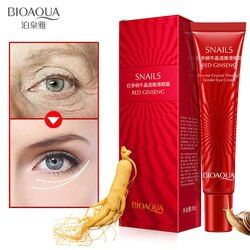 BIOAQUA Anti Wrinkle Anti Aging Eye Cream Effectively Remove Dark Circles Puffiness Repair Eye Lifting Moisturizer Cream