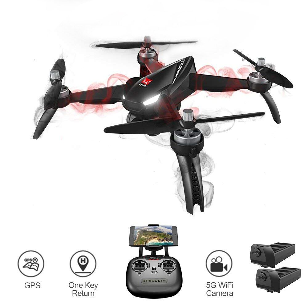 Global Drone B5W Follow Me RC Dron Hign Hold FPV Quadrocopter Brushless Motor GPS Professional HD Drone with Camera 1080P