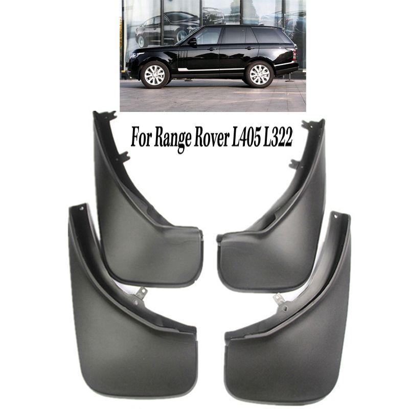 4 PCS Vorn Hinten Schlamm Klappen Schmutzfänger Spritzen-schutz Fender Kotflügel Für Land Rover Range Rover L322 Vogue L405 2006 -2018 zubehör