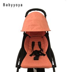 Linen Kain Mengganti Tekstil untuk Bayi Yoya Stroller Sun Shade Shiled Kanopi Kursi Cushion Kasur untuk Bayi Kursi Roda Parm Mobil