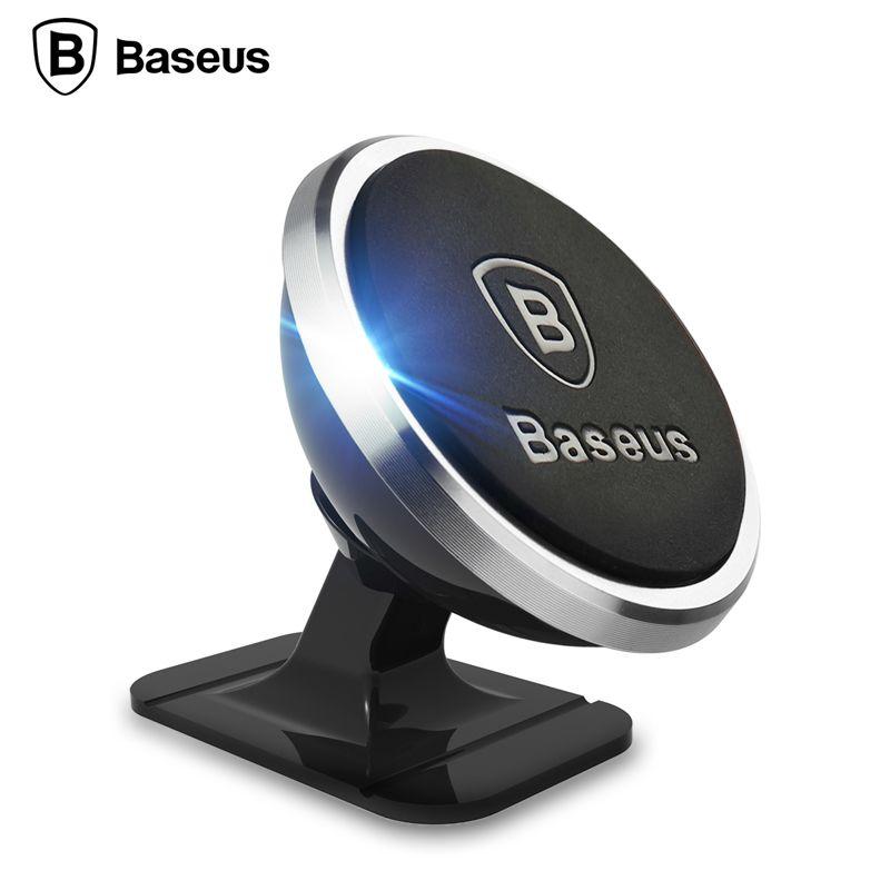 D'origine Baseus Magnétique Universel 360 Degrés de Rotation Téléphone Support De Voiture mount Magnet Titulaire Pour iPhone Samsung SmartPhone GPS