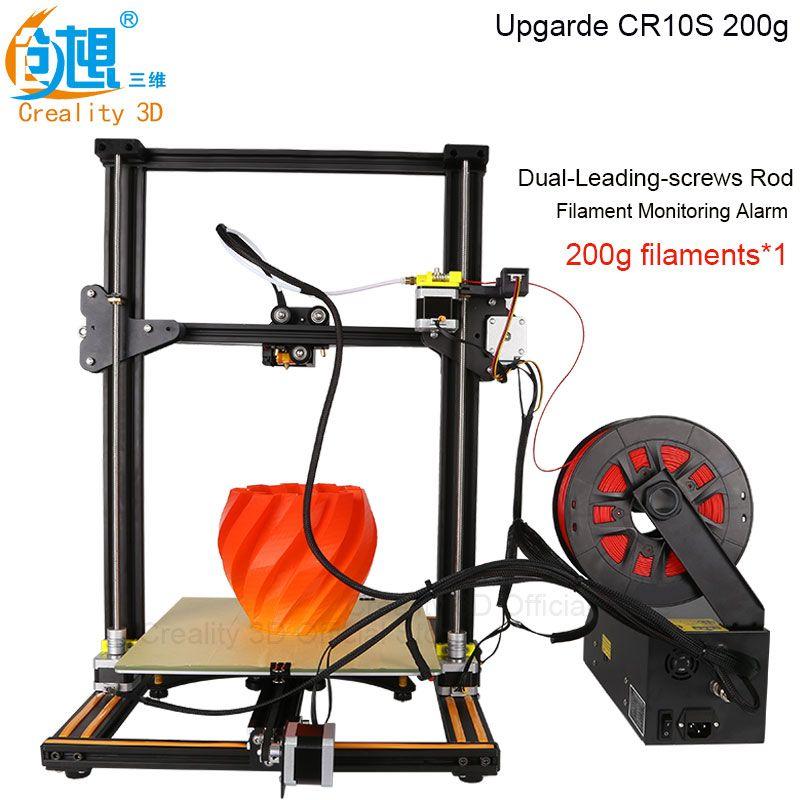 Hot 3D Imprimante Creality 3D CR-10S CR-10 En Option, Dua Z Tige Filament Capteur/Détecter Reprendre le Pouvoir Off En Option 3D Imprimante BRICOLAGE Kit