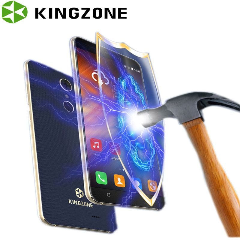 Kingzone S3 5 Inch Smartphone Shockproof Quad Core 1GB RAM+8GB ROM Fingerprint Wifi GPS Telefon Celular 3G Unlocked Cell Phones