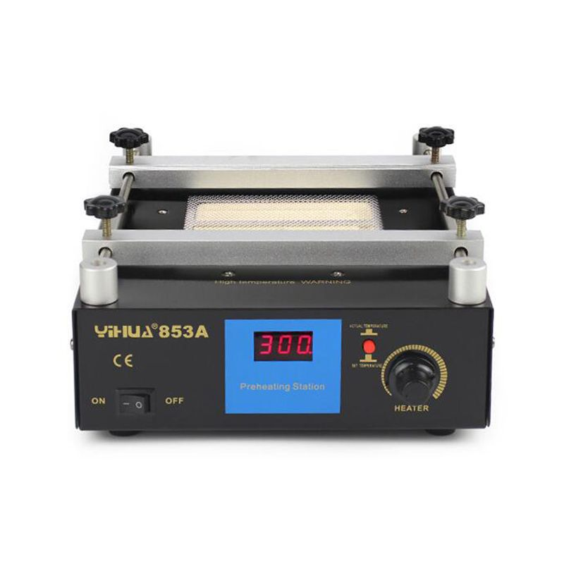 Infrared Preheater digital heating plate station Yihua 853A