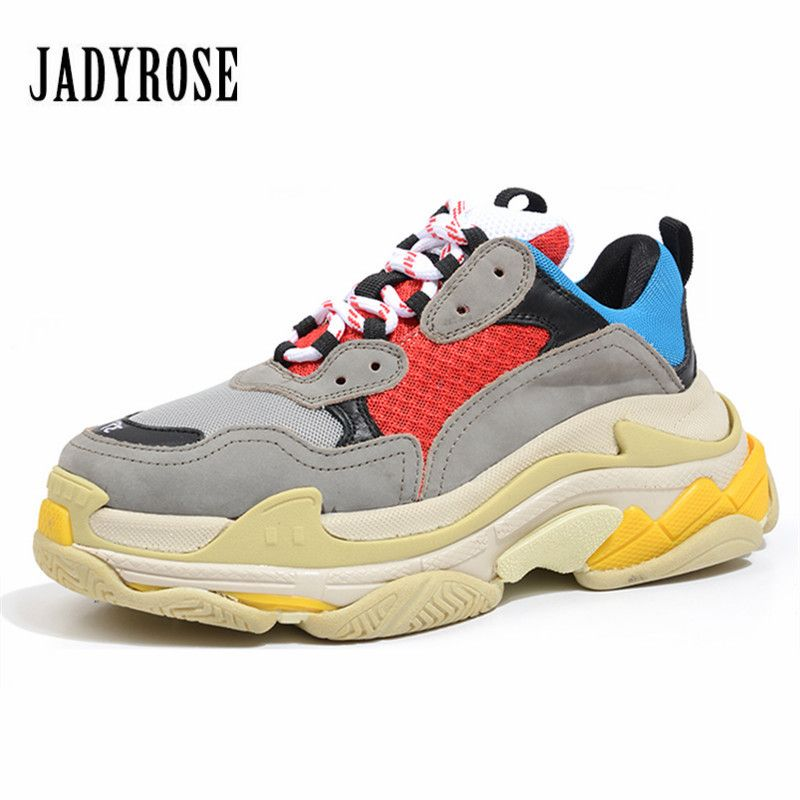Jady Rose 2018 New Women Sneakers Flat Travel Shoes Lace Up Platform Creepers Female Casual Flats Ladies Shoes Tenis Feminino