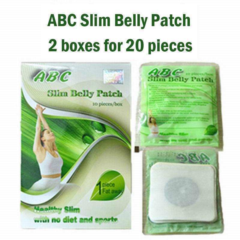 (2 boîtes d'approvisionnement) ABC minceur ventre patch magnétique régime pad perdre du poids rapide brûler graisse 100% efficace livraison gratuite