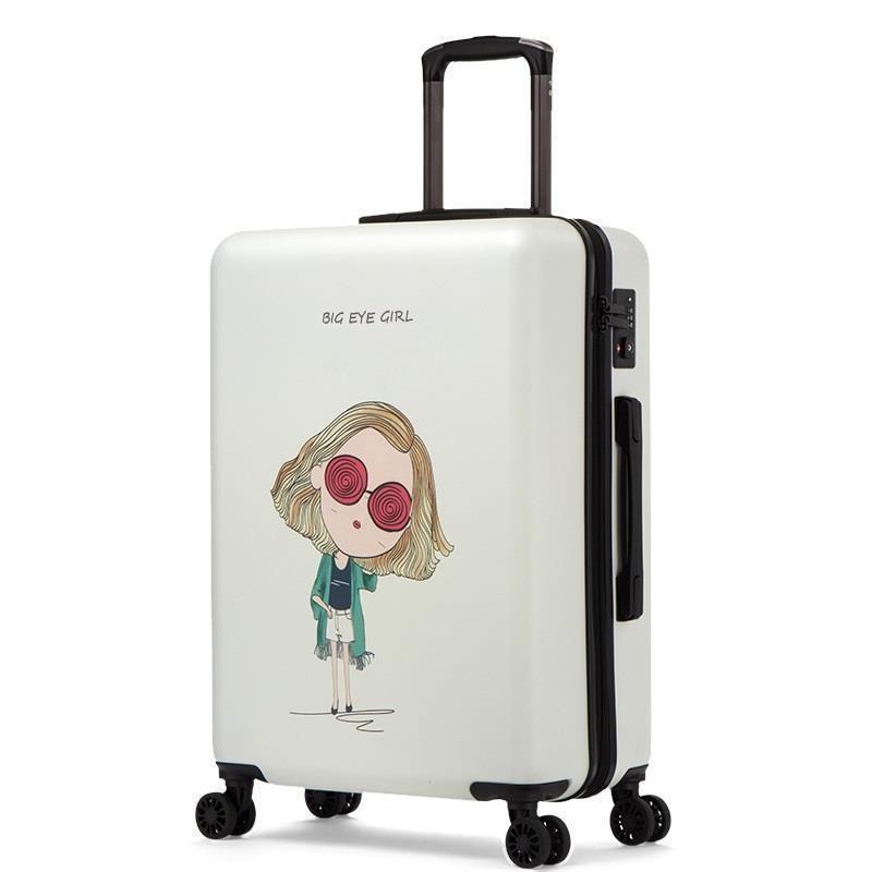 Cabina Con Ruedas Carry On Travel Valise Voyageur Set Colorful Mala Viagem Trolley Valiz Koffer Suitcase Luggage 20