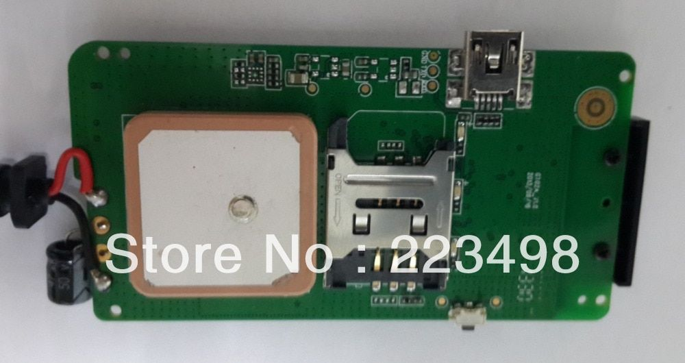 Vehicle Car GPS Tracker  GT02A BOARD 4 BAND Frequency free shipping