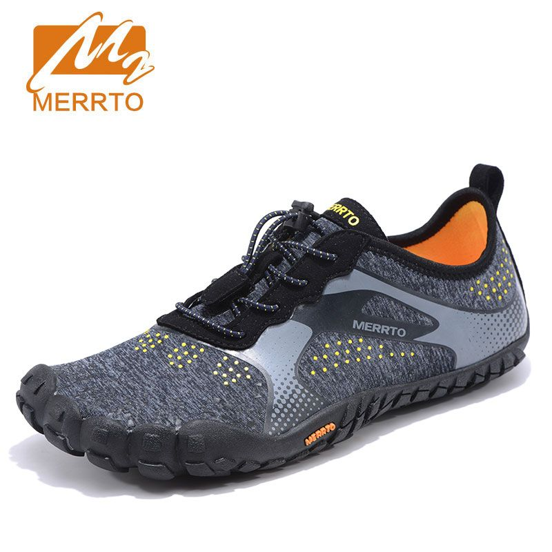 MERRTO Five Fingers Hiking Shoes Men Outdoor Breathable Sneakers For Men Professional Hiking Camping Walking Shoes Quick Drying