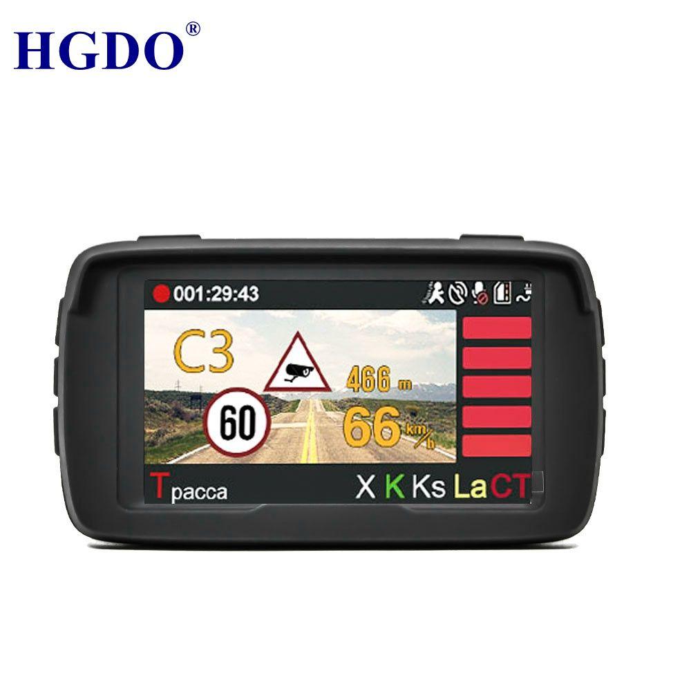 Russland Stimme Anti Laser Radar Detektor 3 in 1 Auto Auto DVR Fahrzeug Kamera Volle HD 1080 p Camcorder Eingebauten GPS Dash cam Logger