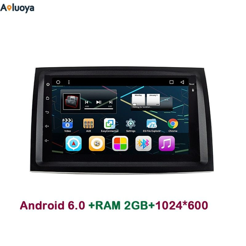 Aoluoya 2GB RAM Android 6.0 car DVD Radio GPS Navigation For KIA Sorento 2009-2012 Car Audio Video head unit mirror link 3G WIFI