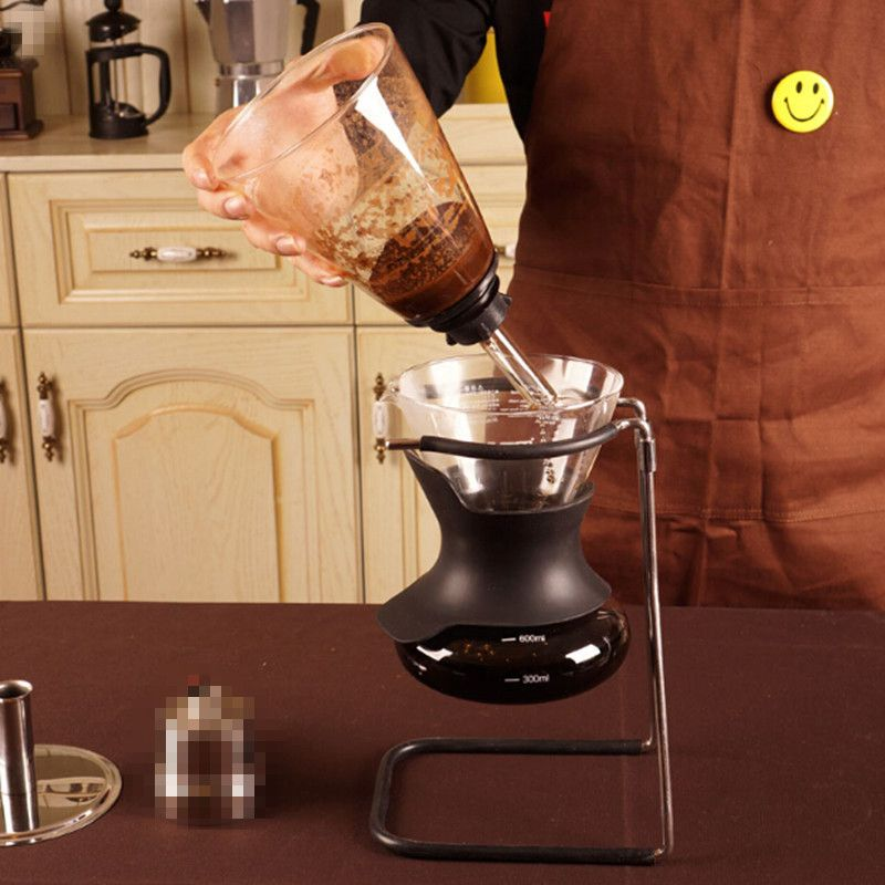 600ml New Siphon Pot Multifunction Siphon Coffee Maker Glass Coffee Syphon Applicable Induction Cooker Coffee Filter Tools