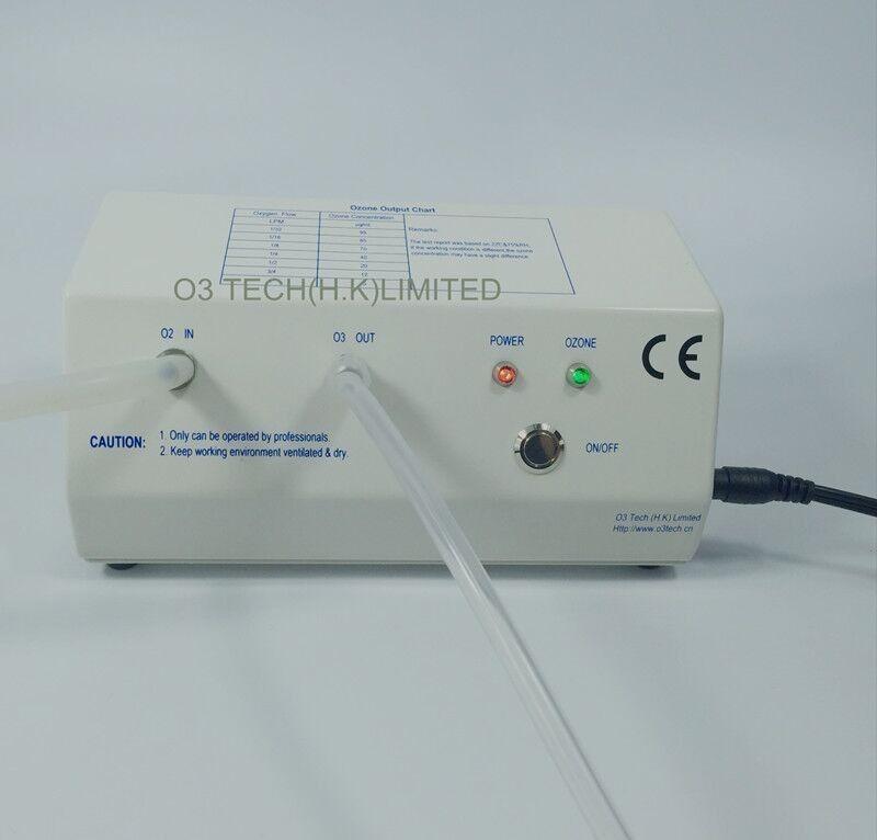 5-99 ug/ml medical ozone generator 12VDC for diabetic foot & dentistry & blood