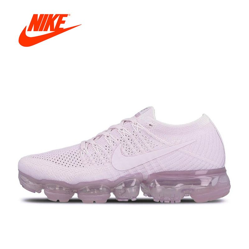 Оригинальный Новое поступление Аутентичные Nike Для женщин Кроссовки Air vapormax Flyknit спортивные Спортивная обувь