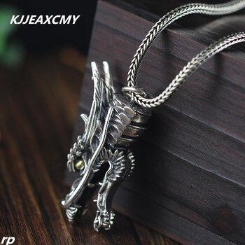 KJJEAXCMY Fine jewelry silver jewelry wholesale S925 sterling silver jewelry pendant leading men's domineering personality