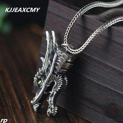 KJJEAXCMY S925 sterling perhiasan perak perhiasan perak perhiasan grosir liontin terkemuka pria mendominasi kepribadian