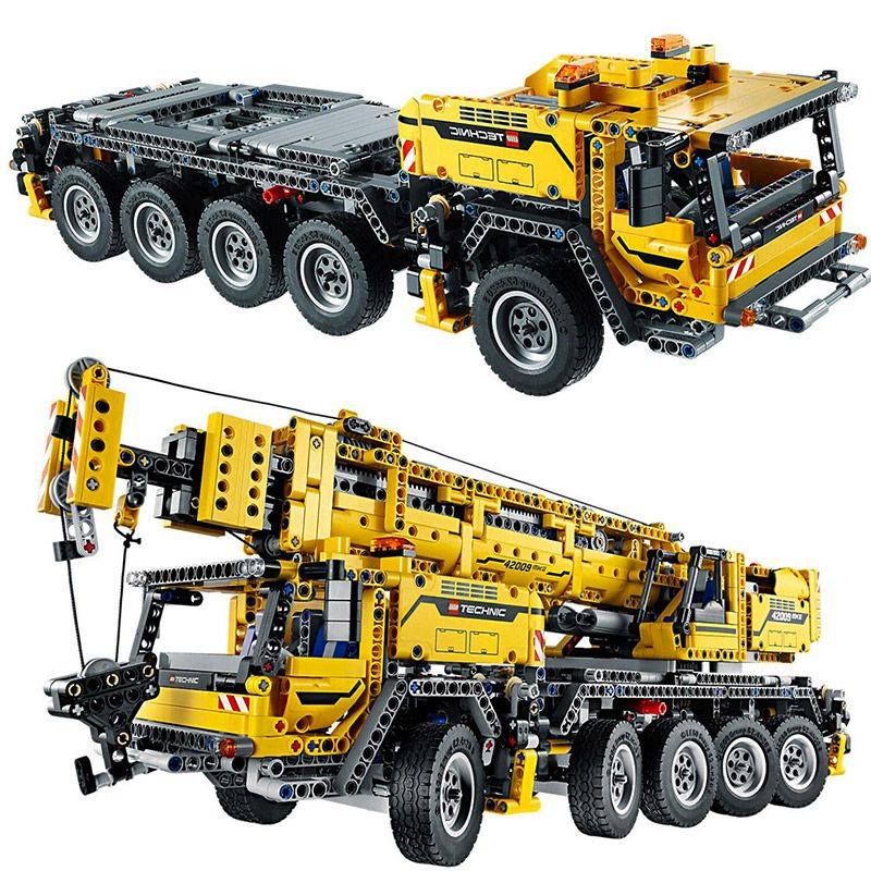 Technology Series Mobile Crane MK II Building Blocks 2606pcs Bricks Toys Gift Compatible With Legoings Technic 42009