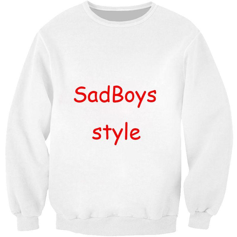 PLstar Cosmos Sad Boys Sweatshirt favorite <font><b>green</b></font> tea Crazy Sweats Women Men Japanese characters Jumper Pullovers plus size S-5XL