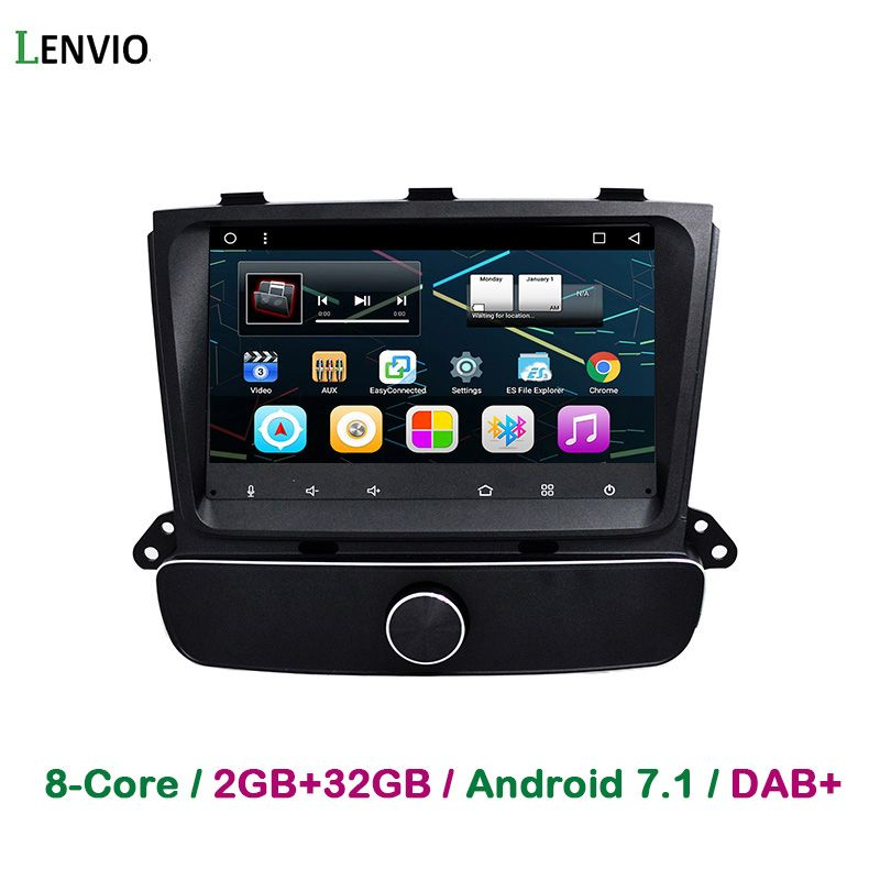 Lenvio 8 IPS 2 GB RAM Octa Core Android 7.1 AUTO GPS DVD PLAYER Für KIA Sorento 2013 2014 hohe version Audio Radio spiegel link TUPFEN