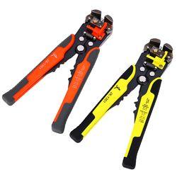 Kawat Stripper Kabel Cutter Crimper Wire Pliers JX1301 Otomatis Multifungsi Tab Terminal Crimping Stripping Tang Alat