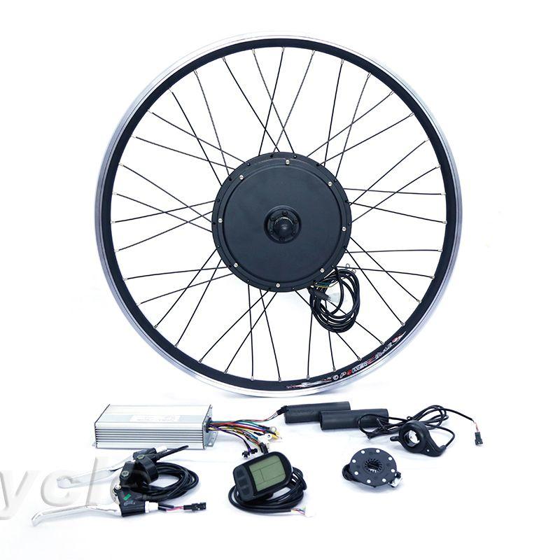 Front or rear motor 55km/h motor wheel 48v 1000w e bike conversion kit for 20