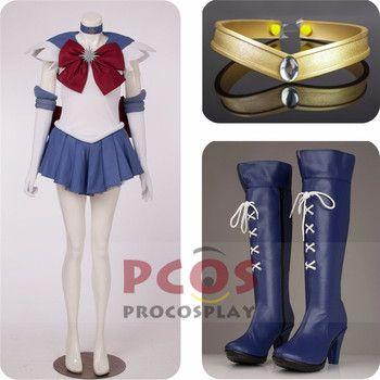 Best Price Set~ Sailor Moon Sailor Saturn Tomoe Hotaru Cosplay Costume & headwear & Boots mp000307