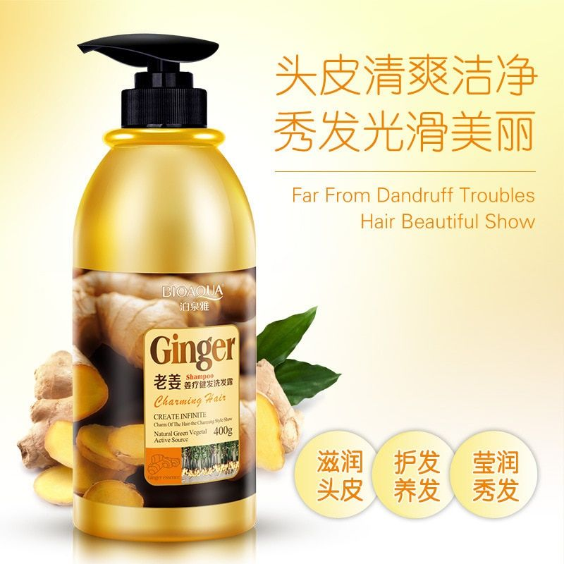 Ginger Hair Mask Fresh and Not Greasy Natural Gentle and The Hair Shine Ginger shampoo Hair