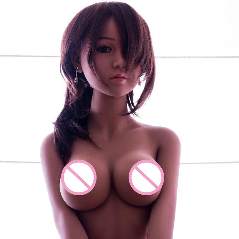 Simulation Echt Silikon Sex Puppen Erwachsene Japanische Liebe Spielzeug Lebensechte Anime Oral Vagina Puppen Volle Pussy Große Brust Für Mann puppe