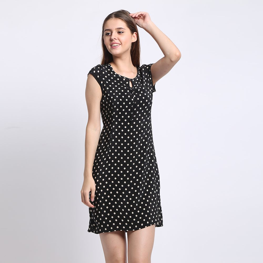 100% Silk Dress Silk Crepe Dress Classic Design Women Printed Dresses New Spring and Summer Style Chinese Silk Supplier