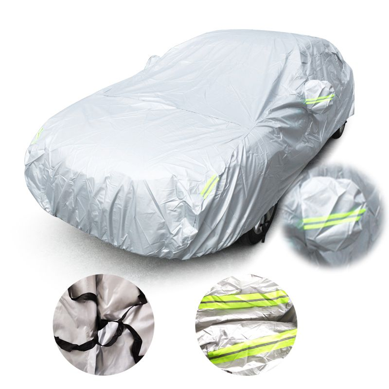 Universal Car Covers Size S/M/L/XL/XXL Indoor Outdoor waterproof Full Car Cover Sun UV Snow Dust Rain Resistant Protection Cover