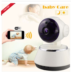Wireless video Baby Monitor seguridad WiFi monitor inalámbrico cámara de visión nocturna Bebé Hogar babysister audio video Monitor