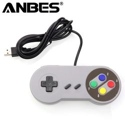 USB Controller Gaming Joystick Gamepad Controller for Nintendo SNES Game pad for Windows PC MAC Computer Control Joystick