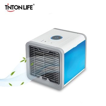 TINTON VIE Portable Mini Climatiseur Ventilateur Espace Personnel Refroidisseur Un Moyen Rapide et Facile pour Refroidir Un Espace Bureau À Domicile bureau