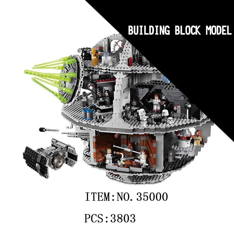 LELE Star Millennium Falcon Wars Erste Auftrag Death Star Destroyer Solo Bausteine Ziegel Spielzeug Für Kinder geschenke legoINGly