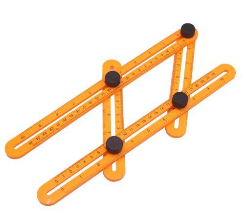 CO-50 colors Measuring Instrument Angle-izer Template Tool Four-Sided Ruler Mechanism Slide Ruler