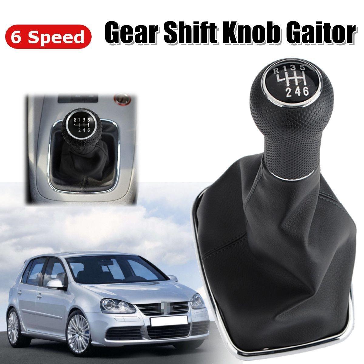 6 SPEED SCHALTKNAUF GAITOR BOOT für VW Golf GTi 1999-2005 für Bora Jetta MK4 1999- 2004