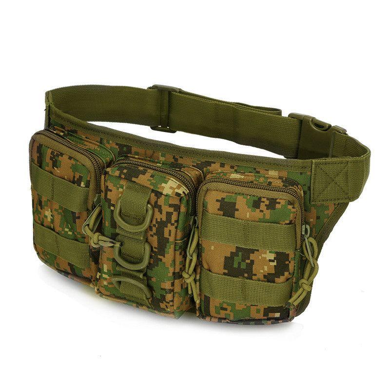 Außen Camouflage Military Gürteltasche Heißer Professionelle Camping Und Wandern Tactical Pouch Neue Radfahren Armee Molle Tasche