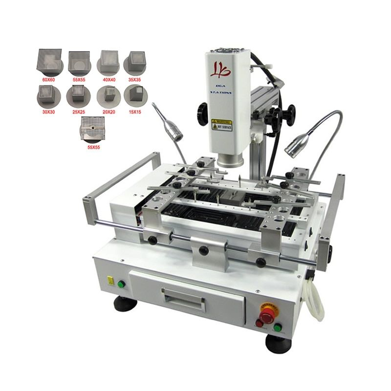 4000W Hot Air Soldering Station BGA Reballing Machine with CCD Camera System Optional for Chips Motherboard Rework Repairing