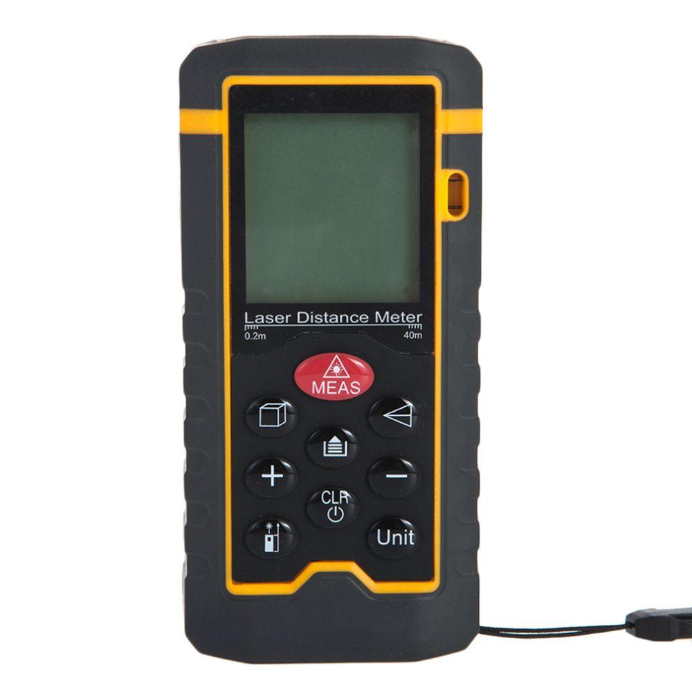 Handheld Laser Entfernungsmesser Messen Fläche/Volumen Tester HT-60 Heißer Verkauf