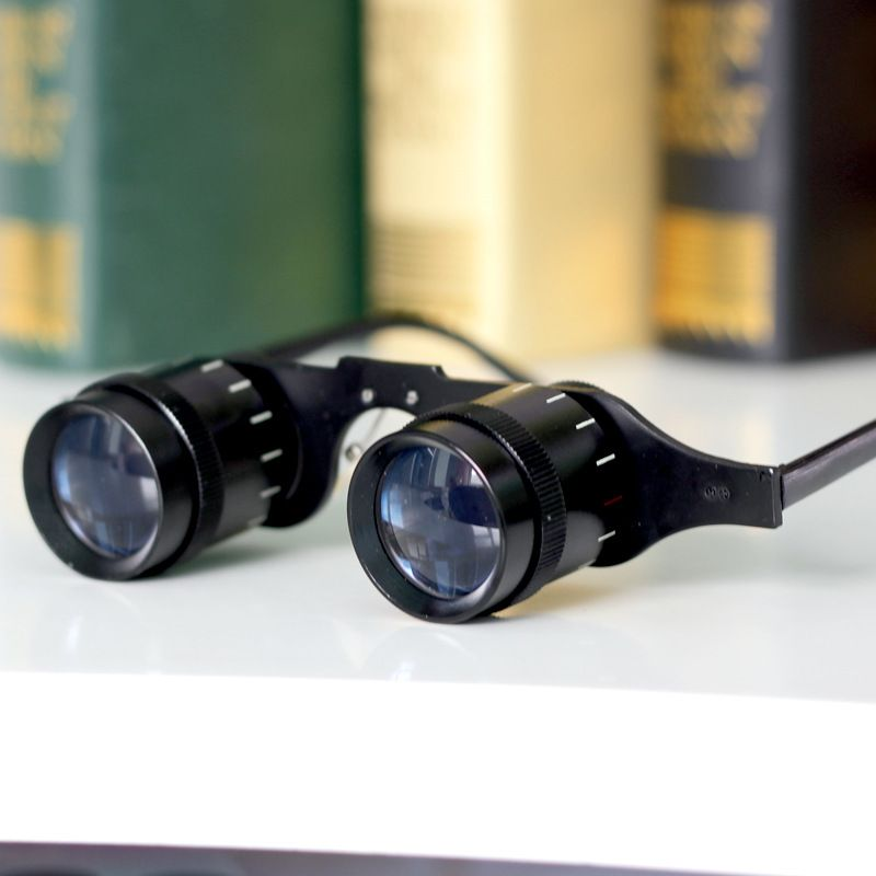 =CLARA VIDA=Low Vision Aid Magnification 3.5X Adjustable Spectacle type Fishing Goggle Telescope Super light See drift Telescope