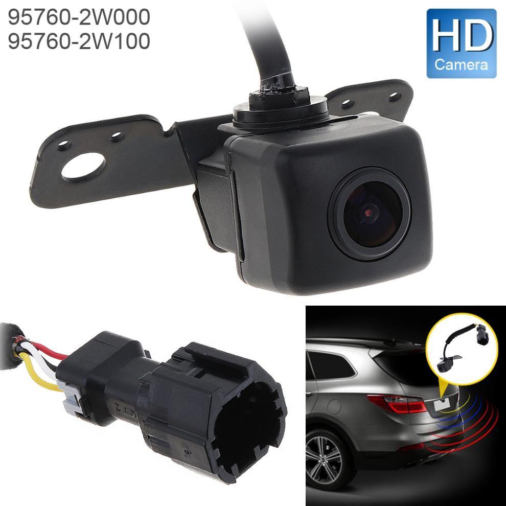 12V Car Rear View Camera 5W Auto Backup Parking Assist Camera OEM 95760-2W000 / 957602W100 for Hyundai Santa Fe 2013-2015