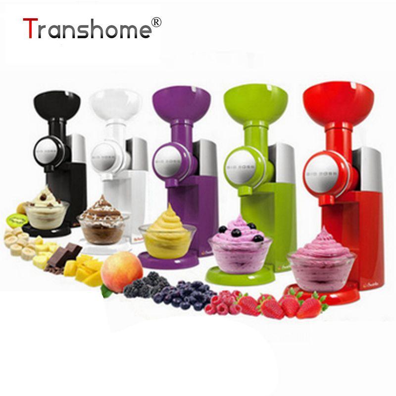 110V Big Boss Swirlio Automatic Fruit Dessert Machine Fruit Ice Cream Maker Milkshake Machine Ice Cream Tool