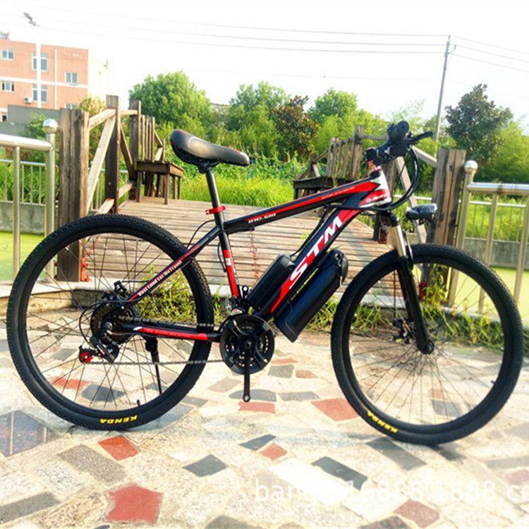 Elektrische fahrrad power elektrische fahrrad wasserkocher batterie 48V12AH500W berg fahrrad 21 geschwindigkeit elektrische fahrrad Russische kostenloser boot