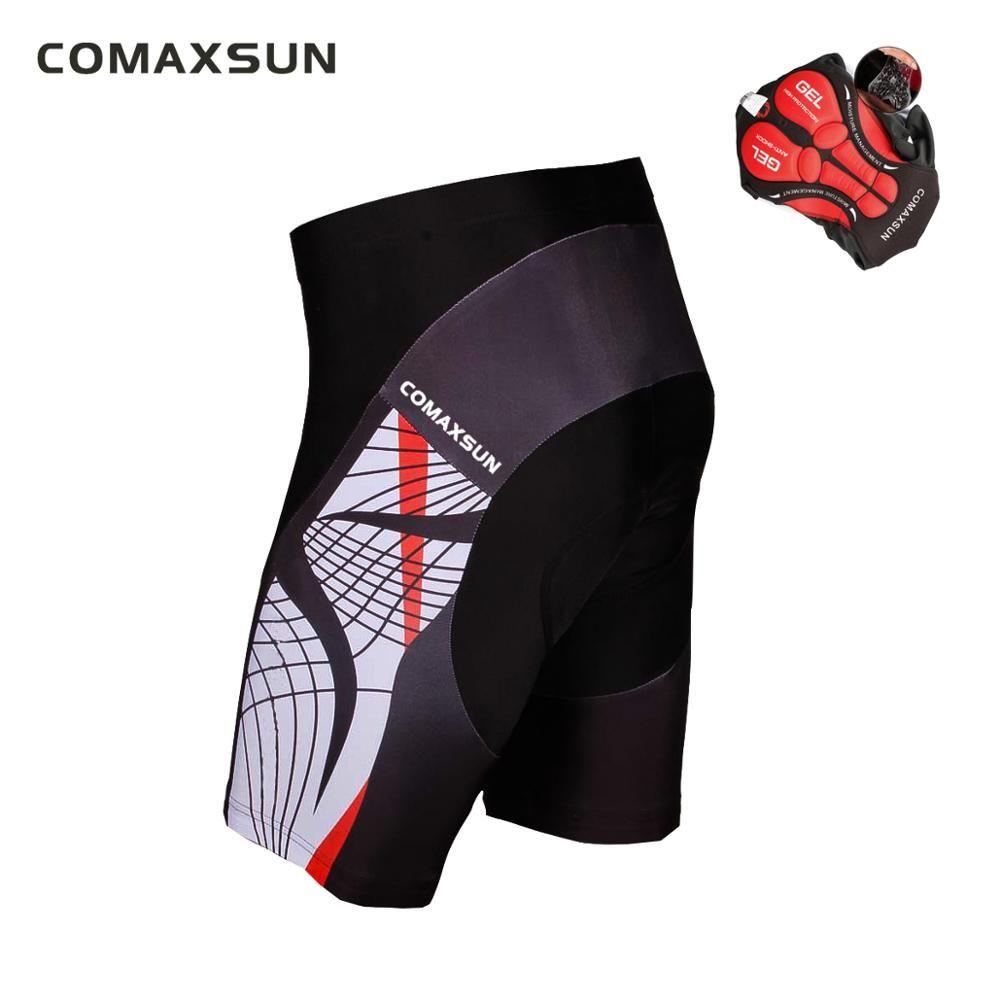 COMAXSUN hommes Shorts de cyclisme 3D rembourré vélo/vélo Sports de plein air serré S-3XL 10 Style