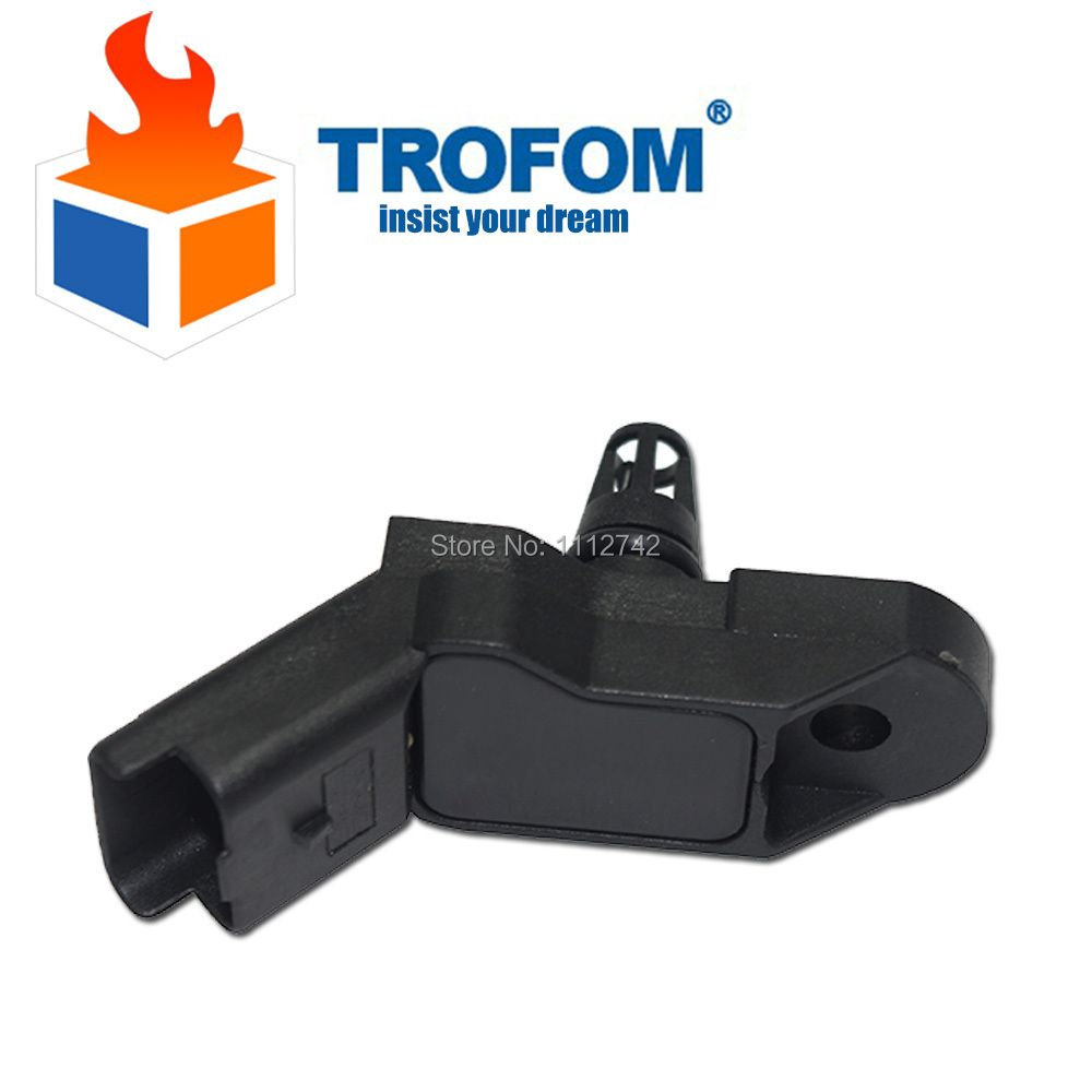 1 Bar Manifold Absolute Pressure MAP Sensor For PEUGEOT 106 PARTNER 206 307 807 407 1007 207 0261230043 96365830 1920AJ SEB950