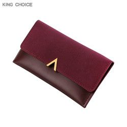 Women Wallets Lady Moneybags Zipper Coin Purse Woman Envelope Wallet Money Cards ID Holder Bags Purses Pocket