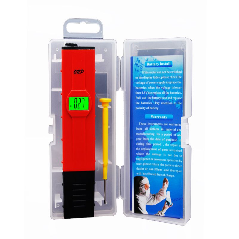 Top quality ORP Meter Oxidation Reduction Potential <font><b>Analyzer</b></font> Redox Tester Water Treatment Monitor with blacklight 15%